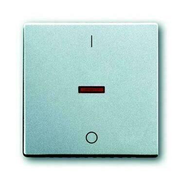 ABB 2CKA001751A2954 Future Kryt spínače jednoduchý, s potiskem I/0, s červeným průzorem