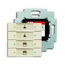 ABB 2CKA006117A0222 KNX Prvek ovládací 4násobný se sběrnicovou spojkou
