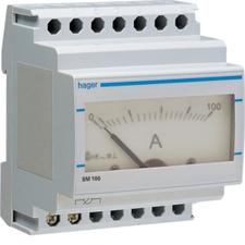 HAG SM100 Ampérmetr analogový nepřímé měření 0 - 100A