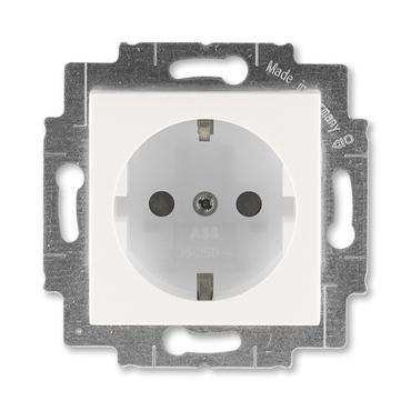 ABB 5520H-A03457 68 Jiné systémy zásuvek Zásuvka jednonásobná s ochrannými kontakty (podle DIN), s c