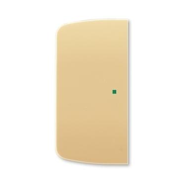 ABB 6220A-A02000 D free@home Kryt 2násobný levý/pravý, bez potisku
