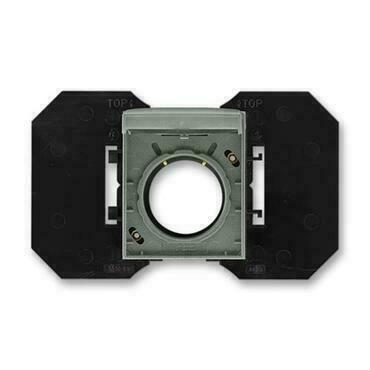 ABB 5530E-A67107 34 Time Zásuvka centrálního vysávání, se základnou