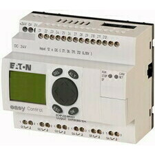 EATON 106401 EC4P-222-MRXD1 Řídicí relé easyControl, provedení s displejem, 12 DI (4 AI), 6 RO, easy