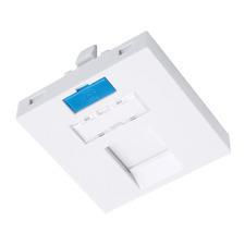 INTLK 23100202 SXF-M-1-45-WH-P Modul French style Solarix 45x45mm pro 1 keystone přímý bílý