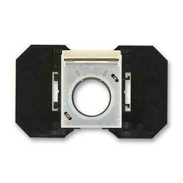 ABB 5530E-A67107 21 Element Zásuvka centrálního vysávání, se základnou