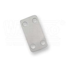 wpr2286 PS-WT-3819 popisovací štítky pro vázací pásky, 38,5 x 19,1 mm, bílá