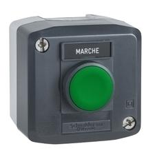 SCHN XALD101 Ovládací skříňka jednotlačítková lícující, 1 Z RP 0,17kč/ks