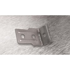 wpr2117 PTA-L2-SS nerez. příchytka L2 pro pásy do š. 19,5 mm, pro 2 šrouby