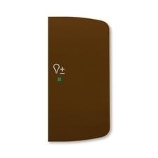 ABB 6220A-A02204 H free@home Kryt 2násobný pravý, symbol stmívání