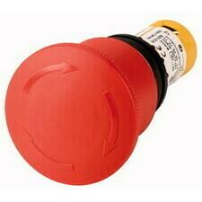 EATON 121610 C22-PVT45P-K11 Kompaktní tlačítko nouzového zastavení 45mm, otočné, bez prosvětlení, če