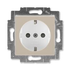 ABB 5520H-A03457 18 Jiné systémy zásuvek Zásuvka jednonásobná s ochrannými kontakty (podle DIN), s c
