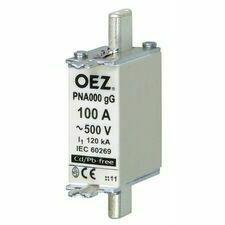 OEZ:40486 Pojistková vložka PNA000 63A gG RP 0,7kč/ks