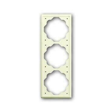 ABB 2CKA001754A4314 Impuls Rámeček trojnásobný, pro vodorovnou i svislou montáž
