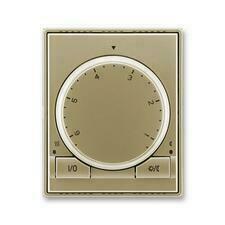 ABB 3292E-A10101 33 Time Termostat univerzální s otočným nastavením teploty (ovl. jednotka)