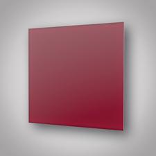 ECOSUN 300 GS Wine Red Vínově červený, skleněný bezrámový panel na stěnu i strop, 300 W (40 ks/pal)