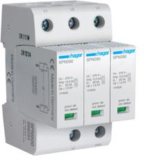 HAG SPN900 Kombinovaný svodič přepětí T1+T2, Iimp 12,5 kA (10/
