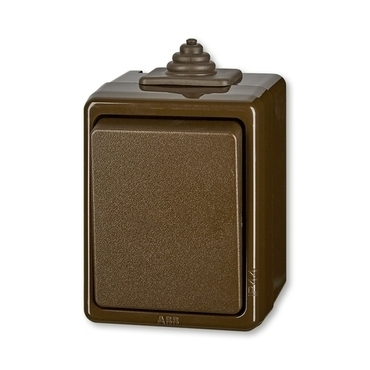 ABB 3553-01929 H Spínač jednopólový, řazení 1, IP44 IPxx