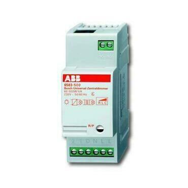 ABB 2CKA006590A0178 Stmívače Stmívač univerzální centrální, 500 W/VA, řadový (typ 6583-500)