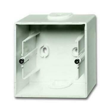 ABB 2CKA001799A0921 Úložný materiál Krabice přístrojová jednonásobná, pro lištové rozvody