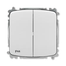 ABB 3559A-A05940 S  Přepínač sériový, s krytem, řazení 5, IP44, bezšroubové svorky 25-IPxx Přepínač