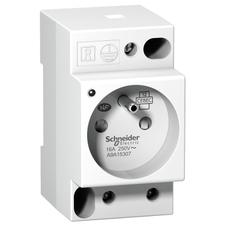 SCHN A9A15307 ZÁS.PC 2P s kolíkem + signálka RP 0,11kč/ks