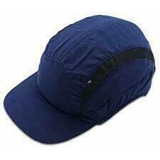 CIMCO 140190 Ochranná čepice modrá se štítkem 70 mm