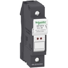 SCHN DF101V Pojistkový odpojovač 10x38 1P 32A signalizace RP 0,07kč/ks