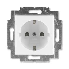 ABB 5520H-A03457 01 Jiné systémy zásuvek Zásuvka jednonásobná s ochrannými kontakty (podle DIN), s c