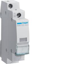 HAG SVN125 Kontrolka LED čirá, 230 V AC