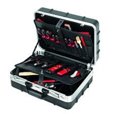 CIMCO 170500 Plastový kufr INDUSTRIE s nářadím 395x455x205 mm (24 ks)