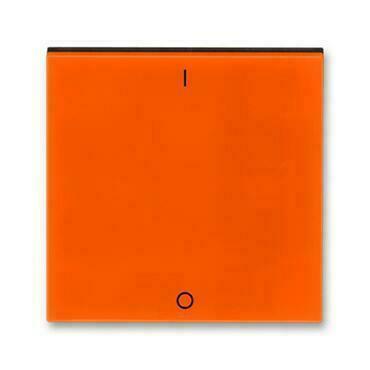 ABB 3559H-A00933 66 Levit Kryt jednoduchý s potiskem a čirým průzorem (pro spínače řaz. 3S)
