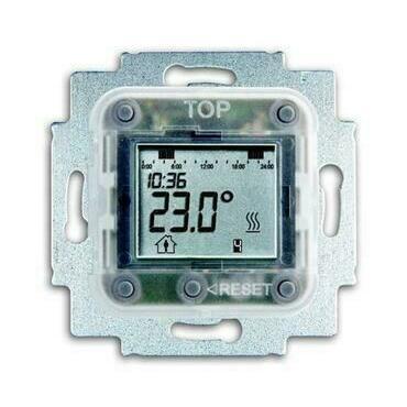 ABB 2CKA001032A0509 Přístroje Přístroj termostatu s týdenními spínacími hodinami, pro podlah. vytápě