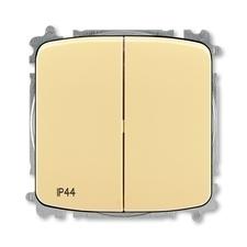 ABB 3559A-A05940 D  Přepínač sériový, s krytem, řazení 5, IP44, bezšroubové svorky 25-IPxx Přepínač