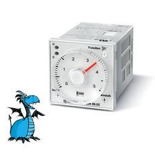FINDER časové relé 88.02.0.230.0002, 2P/8A, 24-230V AC/DC