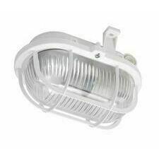DAM OVAL 60, prismatic, bílá, 1x60W GLS/E27, IP44