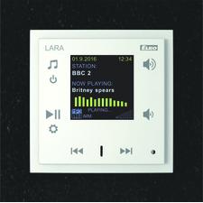 ELKO LARA-R/AL/TAA LARA Radio_hliníková_hliníková RP 0,002kč/ks