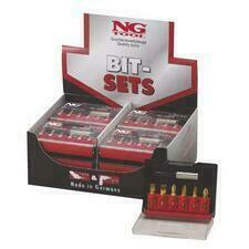NG NS 1486 GR.6  Sada bitů kombinovaná sada - 7-dílů, Isotin