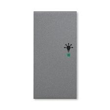 ABB 6220H-A02101 69 free@home Kryt 2násobný levý, symbol osvětlení