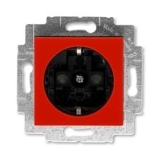 ABB 5520H-A03457 65 Jiné systémy zásuvek Zásuvka jednonásobná s ochrannými kontakty (podle DIN), s c