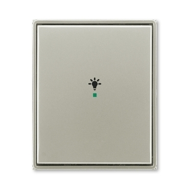 """ABB 6220E-A01001 32 free@home Kryt 1násobný, symbol """"osvětlení"""""""