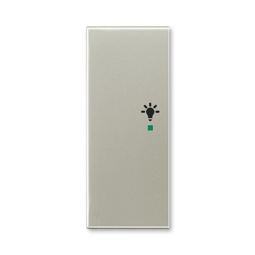 """ABB 6220E-A02101 32 free@home Kryt 2násobný levý, symbol """"osvětlení"""""""