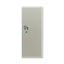 "ABB 6220E-A02204 32 free@home Kryt 2násobný pravý, symbol ""stmívání"""