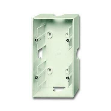 ABB 2CKA001799A0901 Úložný materiál Krabice přístrojová dvojnásobná, pro lištové rozvody