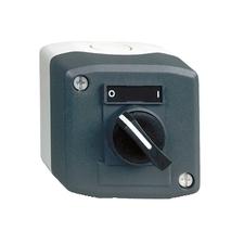 SCHN XALD134 Ovládací skříňka jednotlačítková s otočným ovládačem, 1 Z RP 0,16kč/ks