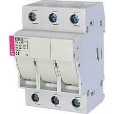 ETI 002540004 pojistkový odpínač, EFD 10 3p