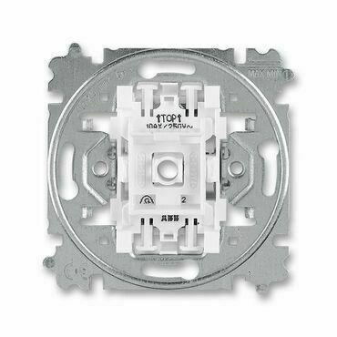 ABB 3559-A06345 Přístroje Přístroj přepínače střídavého, řazení 6, 6So