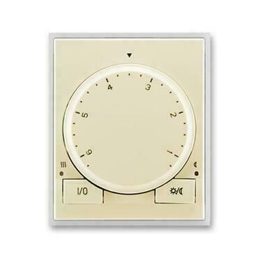 ABB 3292E-A10101 21 Element Termostat univerzální s otočným nastavením teploty (ovl. jednotka)