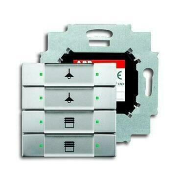 ABB 2CKA006117A0227 KNX Prvek ovládací 4násobný se sběrnicovou spojkou