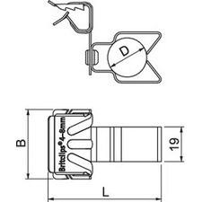 BCHPO 4-8 D25 Nosníková svorka