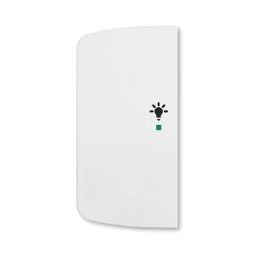 ABB 6220A-A02101 B free@home Kryt 2násobný levý, symbol osvětlení